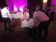 хотел Империал Пловдив - свалянето на жартиера от младоженеца