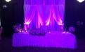 Ефектно осветление на сватбена маса - Диджей Станислав и Диджей Янко